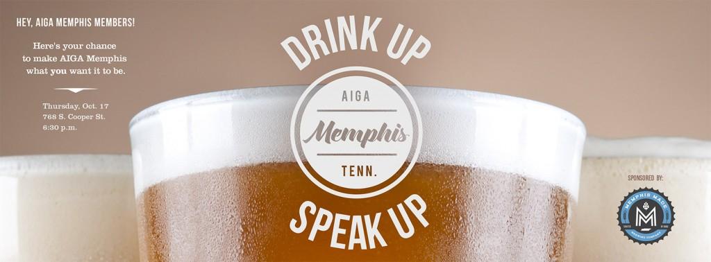 Drink Up / Speak Up