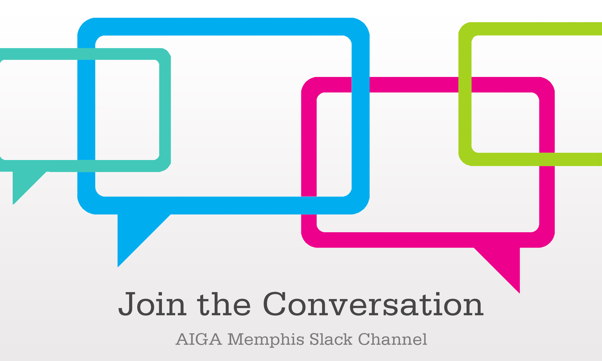 AIGA Slack Join the Conversation