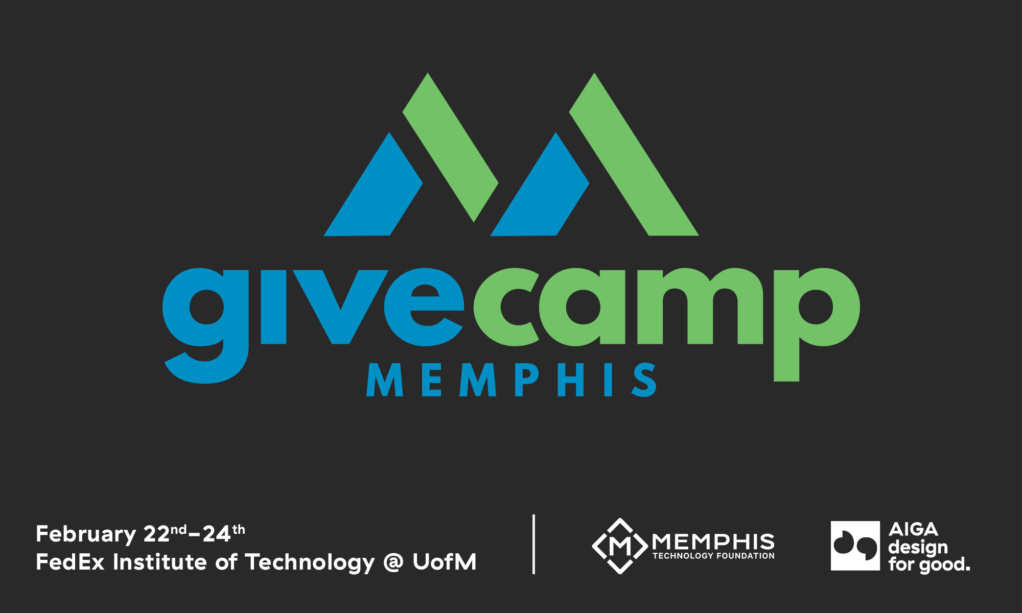 GiveCamp Design for Good – 2019 | AIGA Memphis